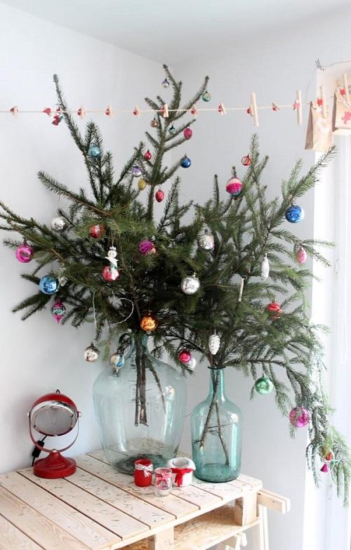 Pretty Christmas Living Room Ideas2