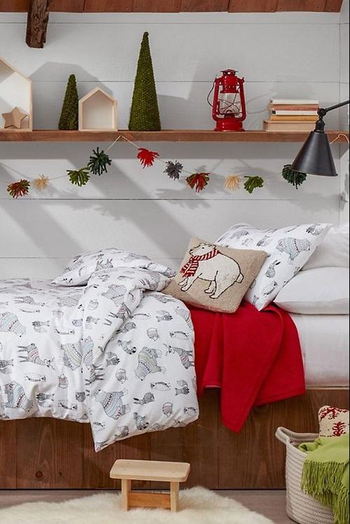 Display Christmas Goodies on Shelves
