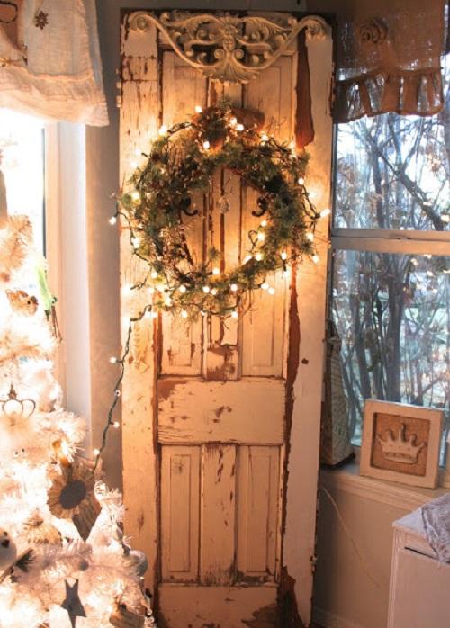 French Shabby Christmas decor