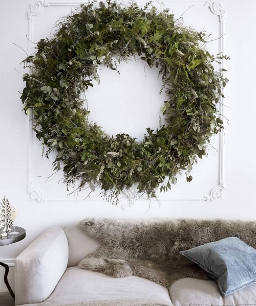 Go With a Large Wreath