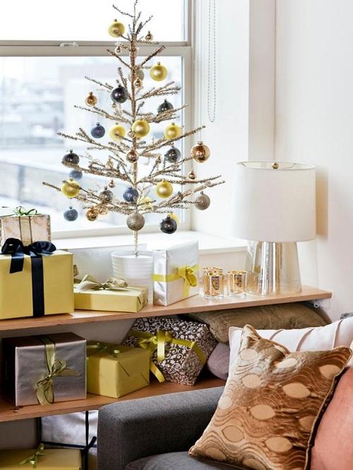 Pretty Christmas Living Room Ideas11