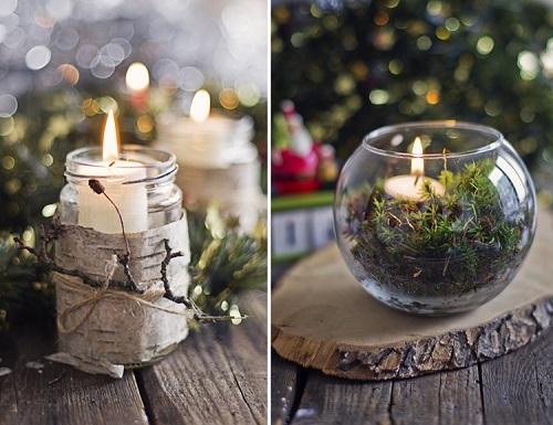 Pretty Christmas Living Room Ideas10