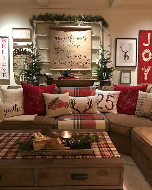 Red and White Color Scheme