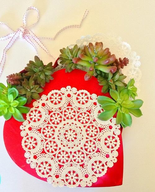 DIY Valentine Wreath3