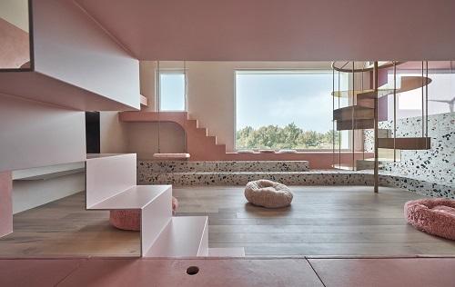 A Pink Cat Room