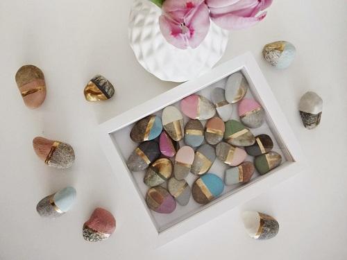 Chalk Painted Stones