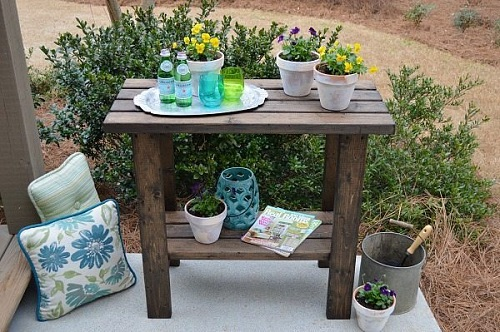 Cheap and Basic Potting Table