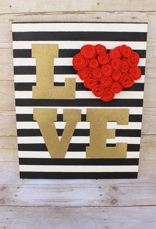 DIY Farmhouse Valentine's Day Decor Projects6