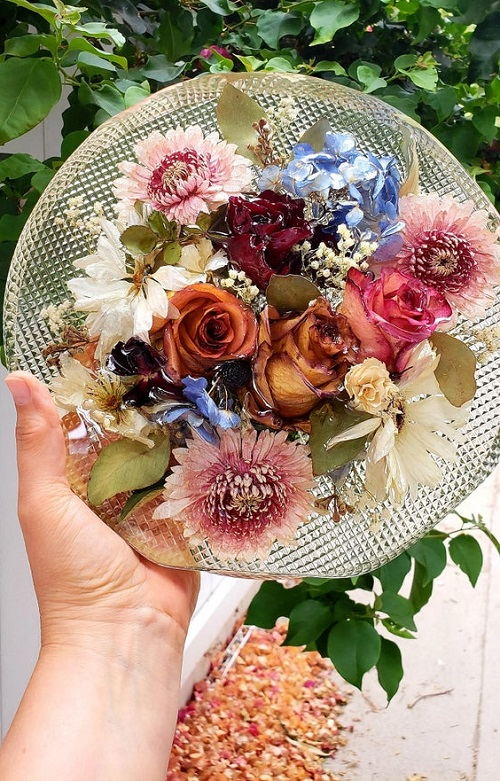 Preserving Flowers With Glycerin3