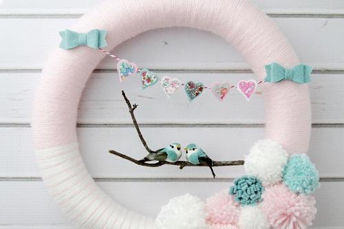 Love Birds Wreath