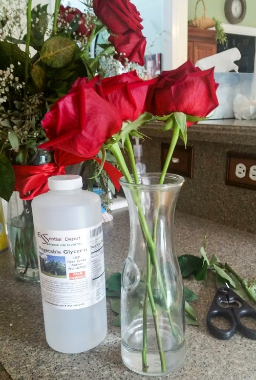 Preserving Flowers With Glycerin2