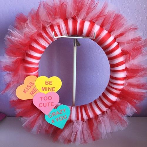 DIY Valentine Wreath2