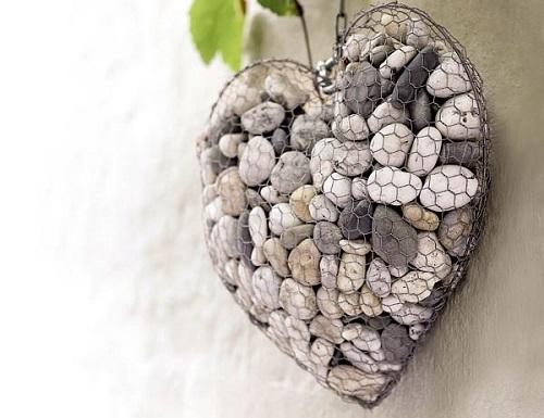 Unique Stone Heart