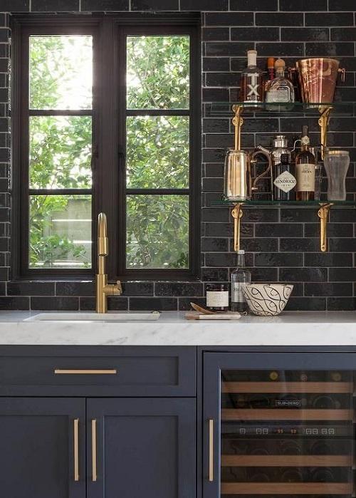 Blue Kitchen Cabinet Ideas6