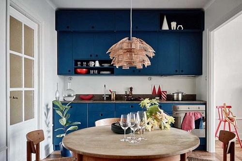 Blue Kitchen Cabinet Ideas2