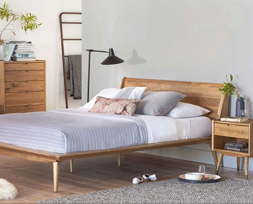 How to Make a Bed Scandinavian Style1
