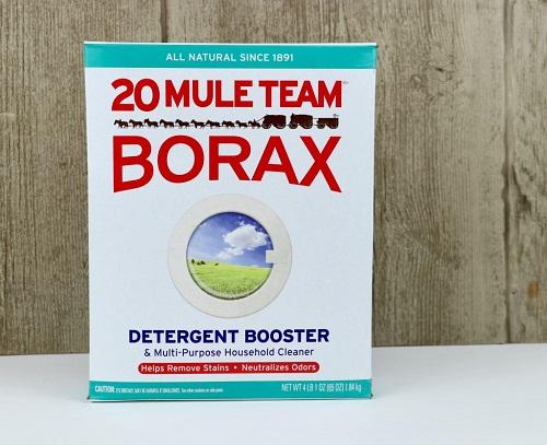 Use Borax for Mildew