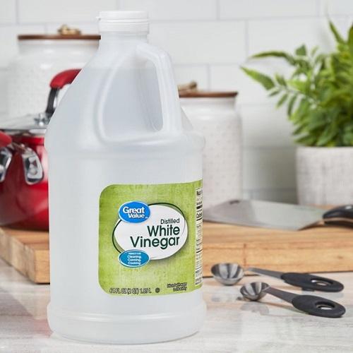Try White Vinegar for Gum