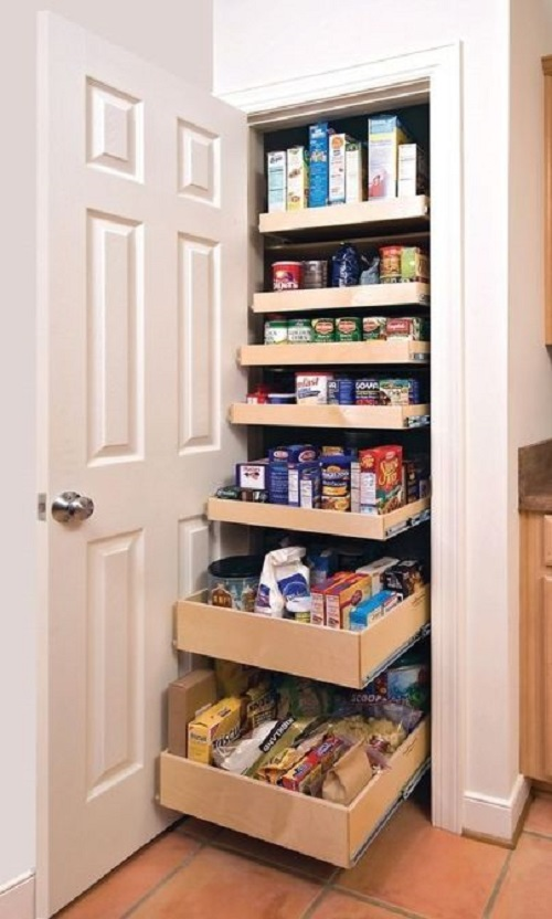 Custom Pull-Out Drawers