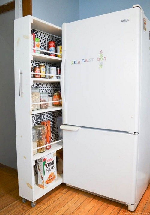 DIY Pull Out Pantry