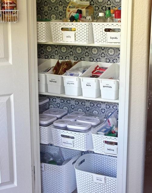 Organize a Small Pantry Closet
