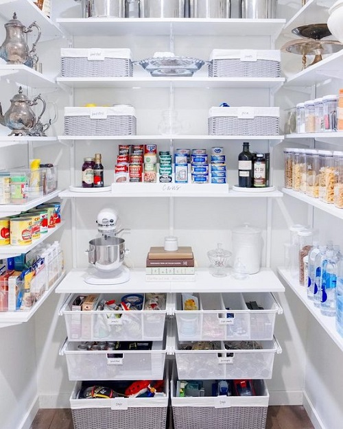Use Pull-Out Drawers