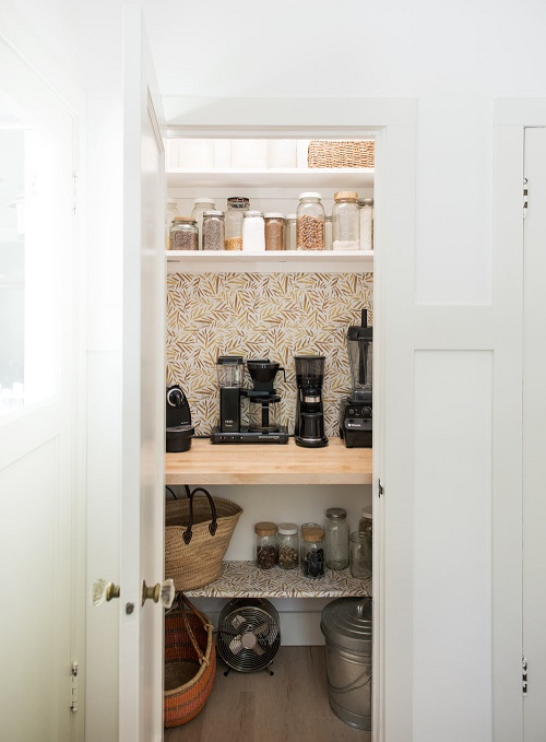 Wooden Countertop for Small Appliances