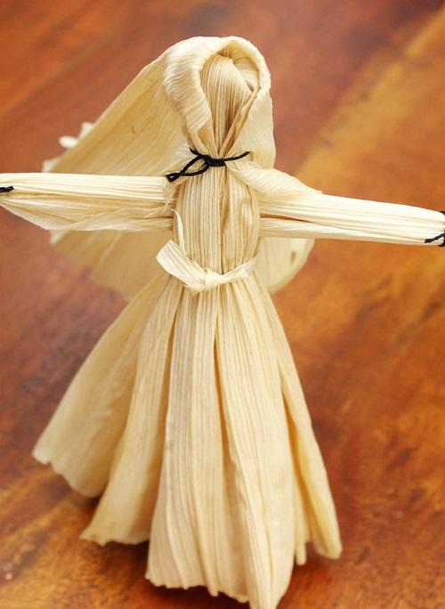 DIY Doll from Corn Husks