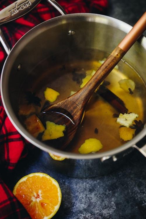 Vanilla Orange Simmer Spices